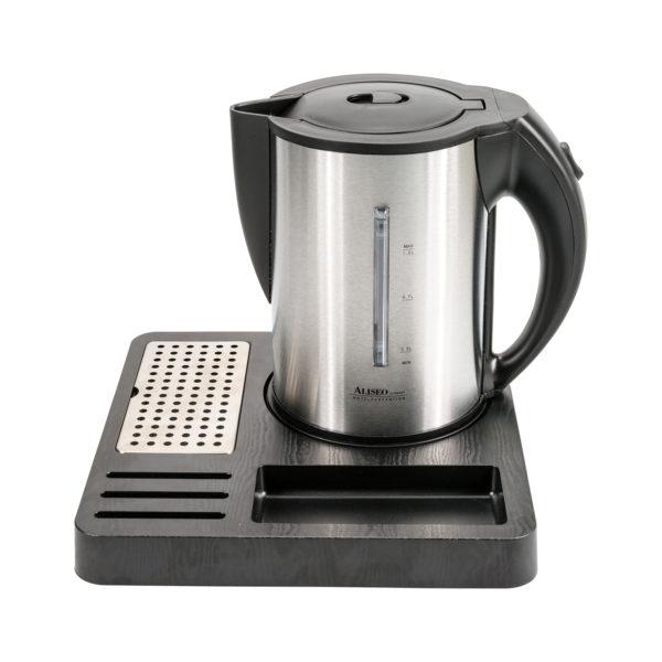 aliseo set bollitorevassoio 170268 tea statio fusion arpa italia forniture alberghiere