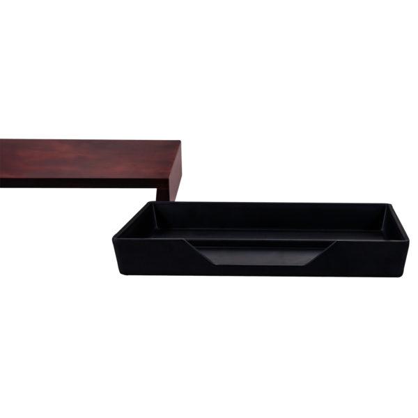 aliseo vassoi 170254 bridge tray arpa italia forniture alberghiere separato