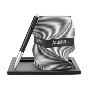 aliseo accessori cuoio 190073 the londoner noir arpa italia forniture alberghiere 2
