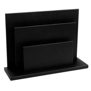 aliseo accessori cuoio 190080 the londoner noir arpa italia forniture alberghiere